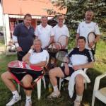 von links: Johannes Gorton, Heinz Pöcher, Gerald Strebenitzer, Peter Zunder, Ronnie Leitgeb, Paul Nagele